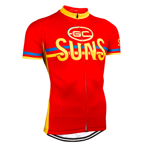 Gold Coast Suns AFL Licensed Short Sleeve Jersey