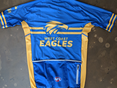 West Coast Eagles AFL Licensed Premium Jersey - Men's