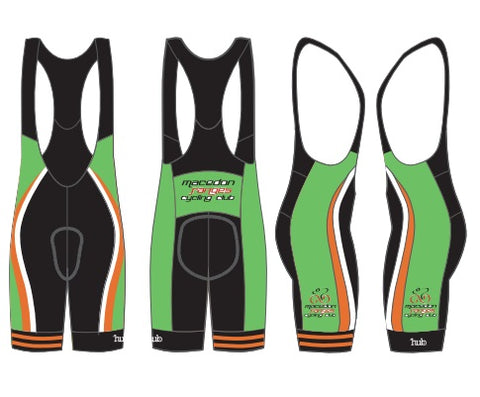 Macedon Ranges Cycling Club - MEN'S & WOMEN'S BIB KNICKS