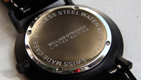William Strouch swiss made swedish design watch