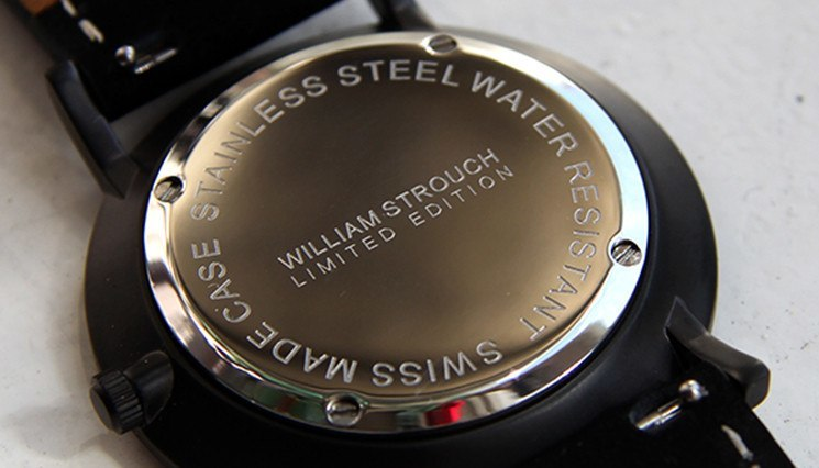 William Strouch Swiss Made watch