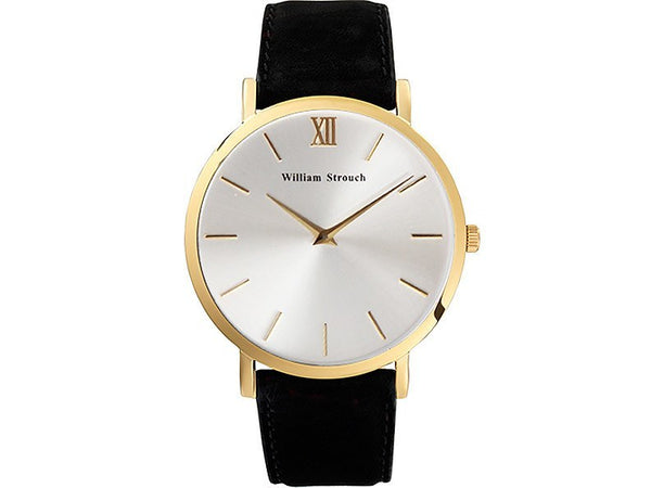 William Strouch Watch - BLACK AND SILVER STREAK