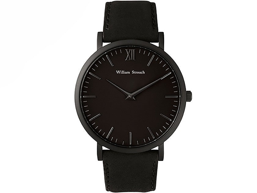 William Strouch Watch - CLASSIC BLACK