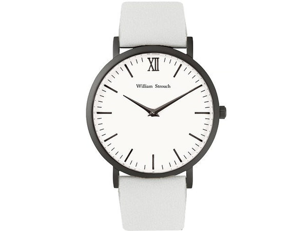 William Strouch Watch - CLASSIC WHITE