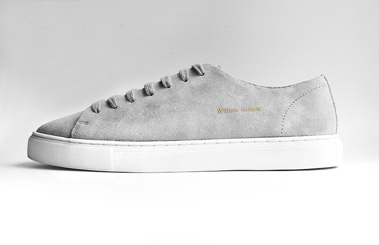 William Strouch Shoes - GREY CLASSIC SNEAKER SKO