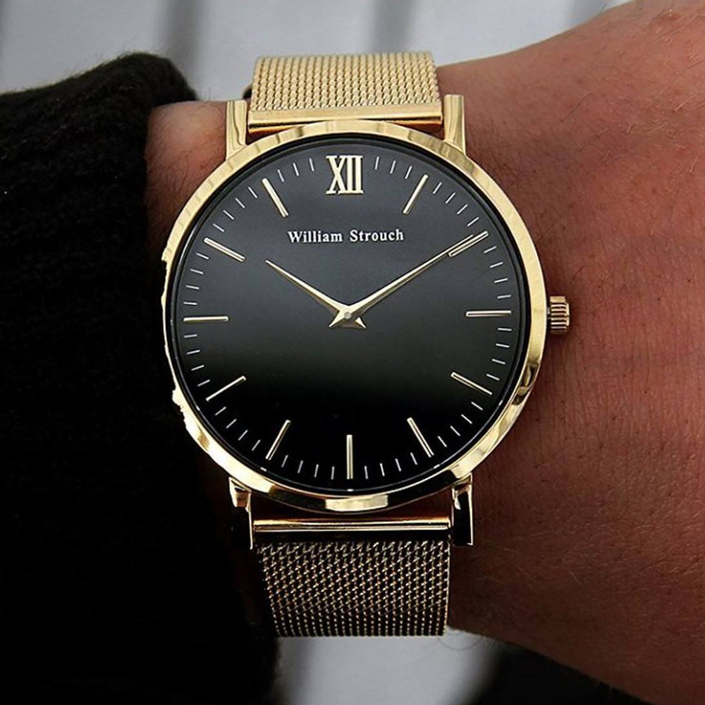 William Strouch Watch - CLASSIC GOLD