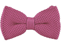 Bow Tie - Knit Bow Tie Pink