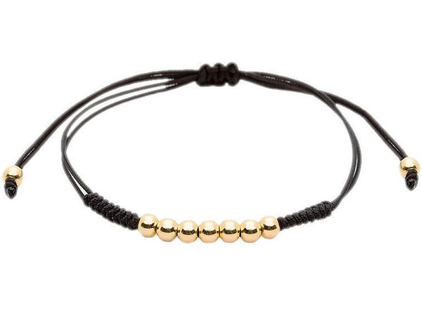 Bracelet - 18K YELLOW GOLD 7 BALLS