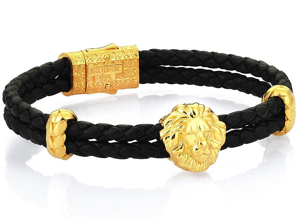 Bracelet - 18K YELLOW GOLD LEO NAPPA