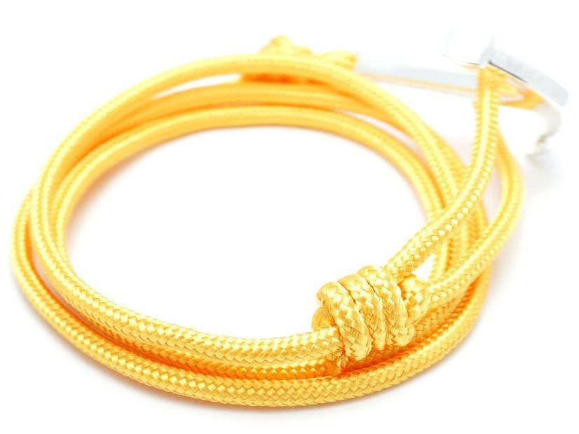 Bracelet - Anchor Bracelet Yellow / Silver