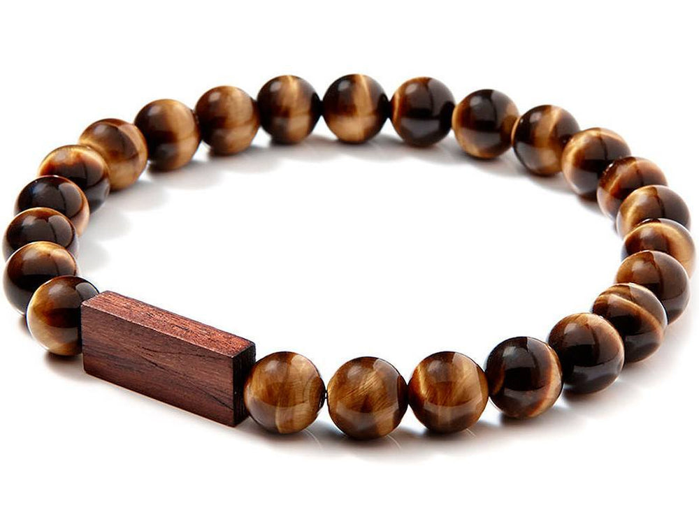 Bracelet - TIGER'S WOOD Liel and lentz