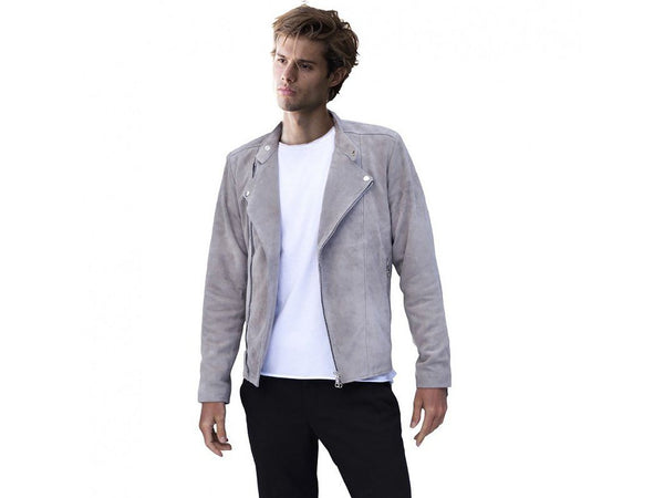 Jacket - SUEDE JACKET GREY