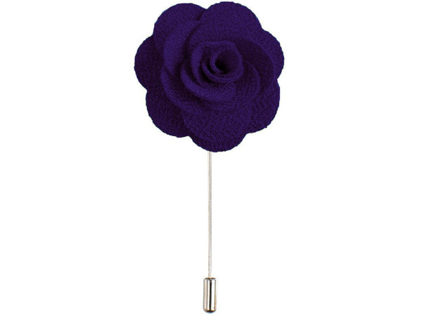 Lapel Pin - Lapel Flower Violet