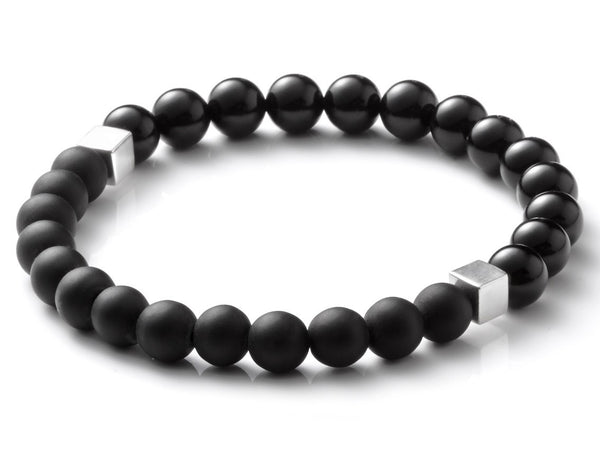 Liel and lentz Bracelet - 925K SILVER BLACK ON BLACK