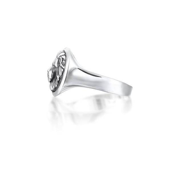 Rings - 925K SOLID SILVER LION RING