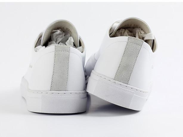Shoes - WHITE LEATHER CLASSIC SNEAKER