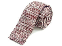 Tie - Knit Tie Red Fade