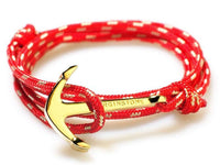 virginstone Bracelet - Anchor Bracelet Red / Gold
