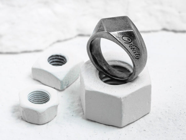 Vitaly Design Rings - BERLIAN X ANTIQUED STEEL