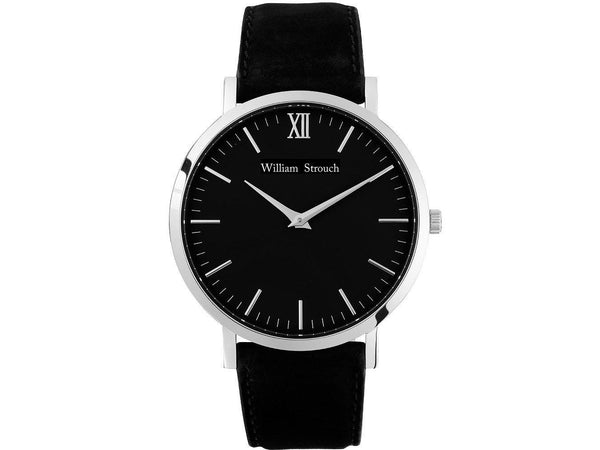 Watch - CLASSIC BLACK AND SILVER