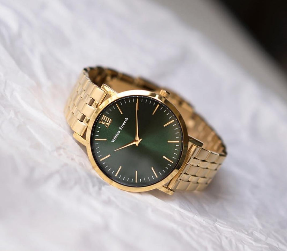 Watch - CLASSIC GOLD AND GREEN WATCH