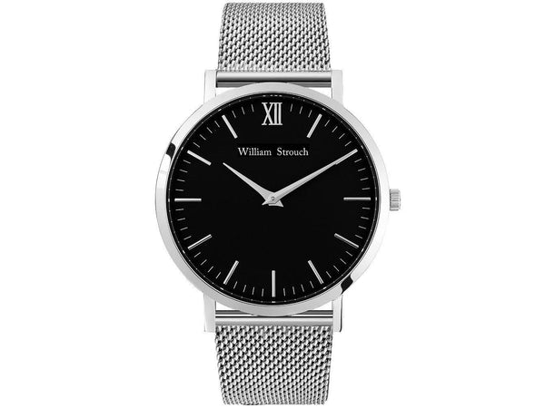 Watch - CLASSIC SILVER AND BLACK