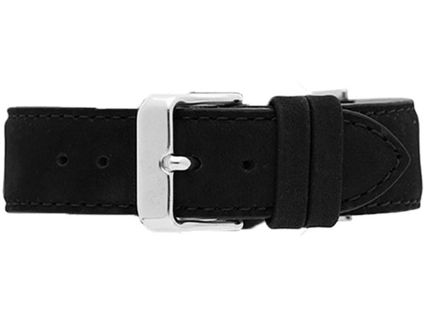 Watch Strap - CLASSIC BLACK + SILVER STRAP