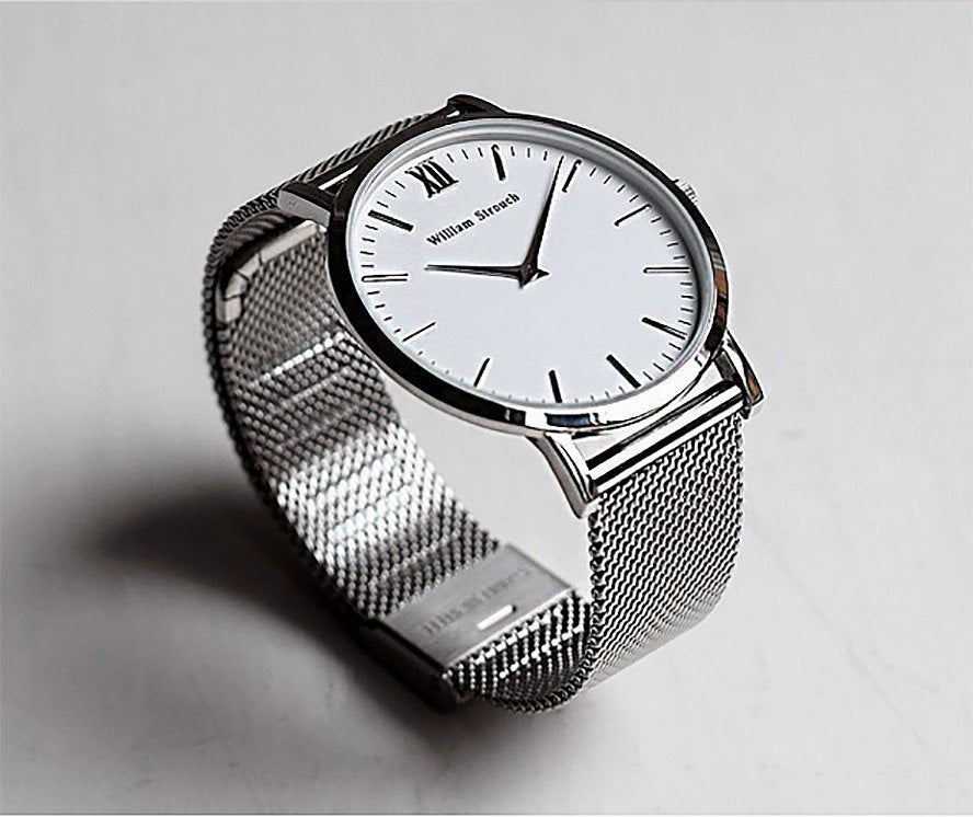 Watch Strap - CLASSIC SILVER STRAP