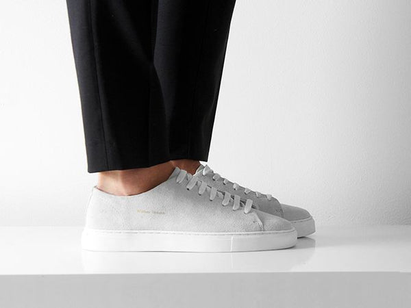 William Strouch Shoes - WHITE CLASSIC SNEAKER SKO
