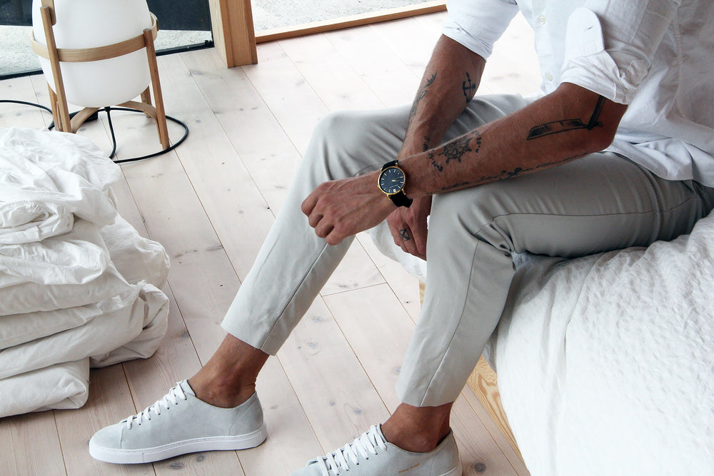 William Strouch Shoes - WHITE CLASSIC SNEAKER