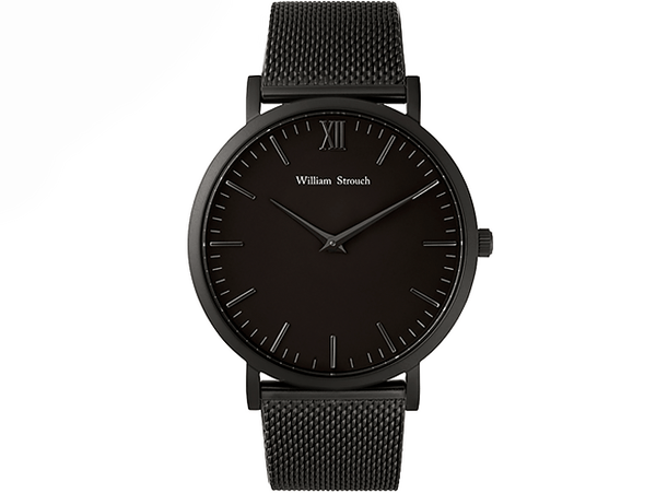William Strouch Watch - CLASSIC CM BLACK