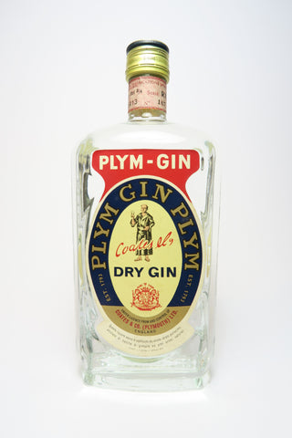 Coates & Co. Plym-Gin Plymouth Dry Gin - Late 1960s/Early 1970s (46%, 75cl)