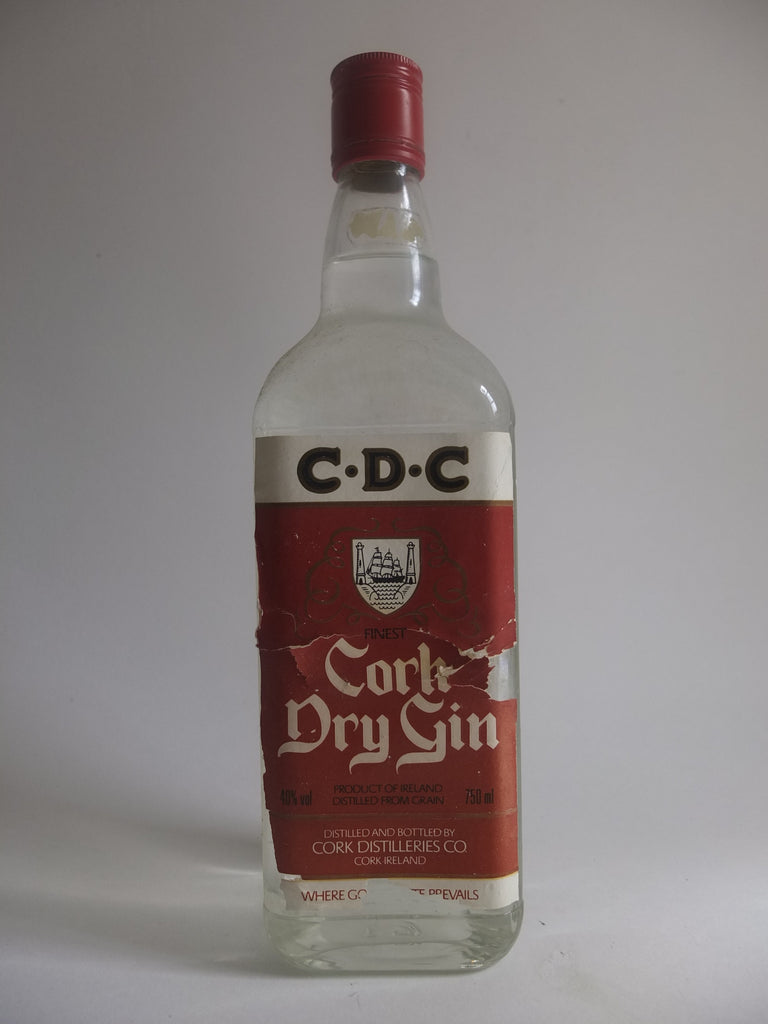 Cork Dry Gin - 1980s (40%, 75cl)