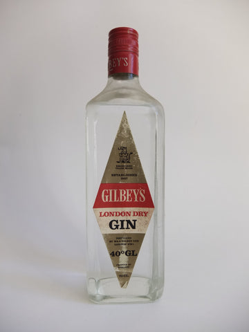 Gilbey's London Dry Gin - 1970s (40%, 70cl)