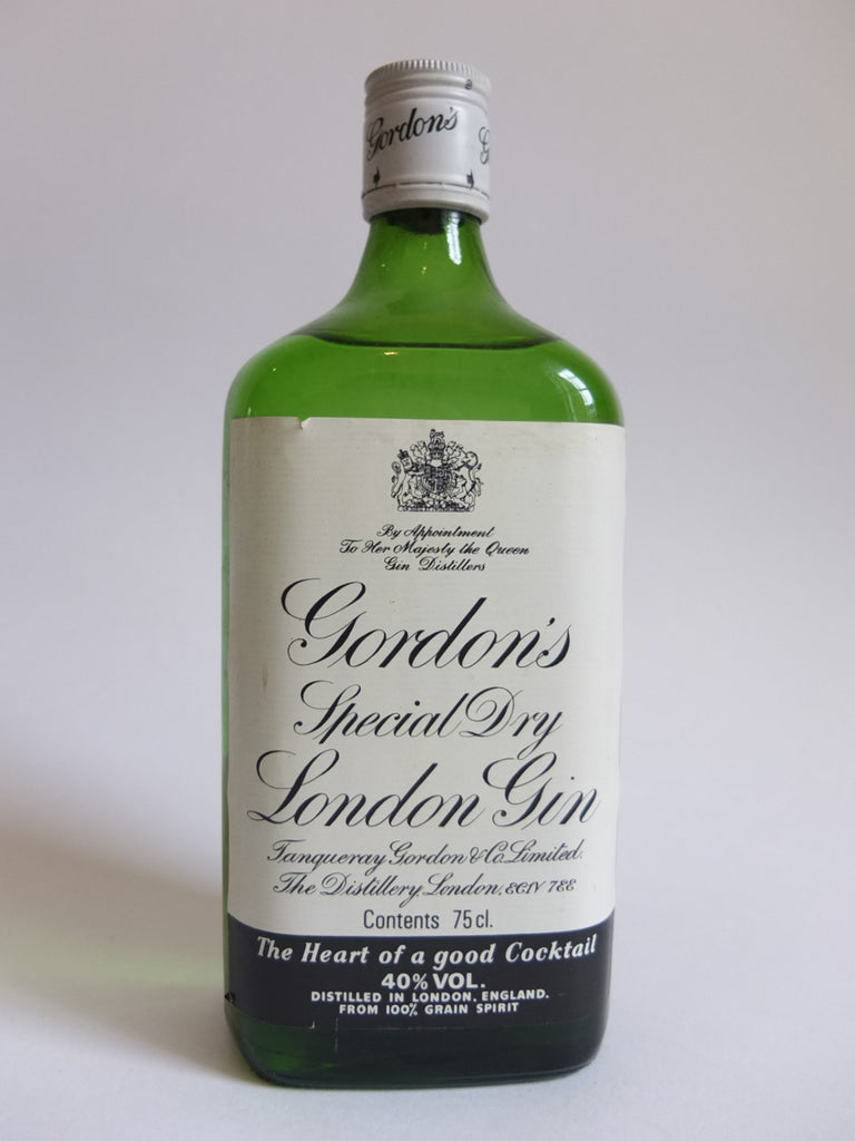 Gordon's Special Dry London Gin - 1980s (40%, 75cl)