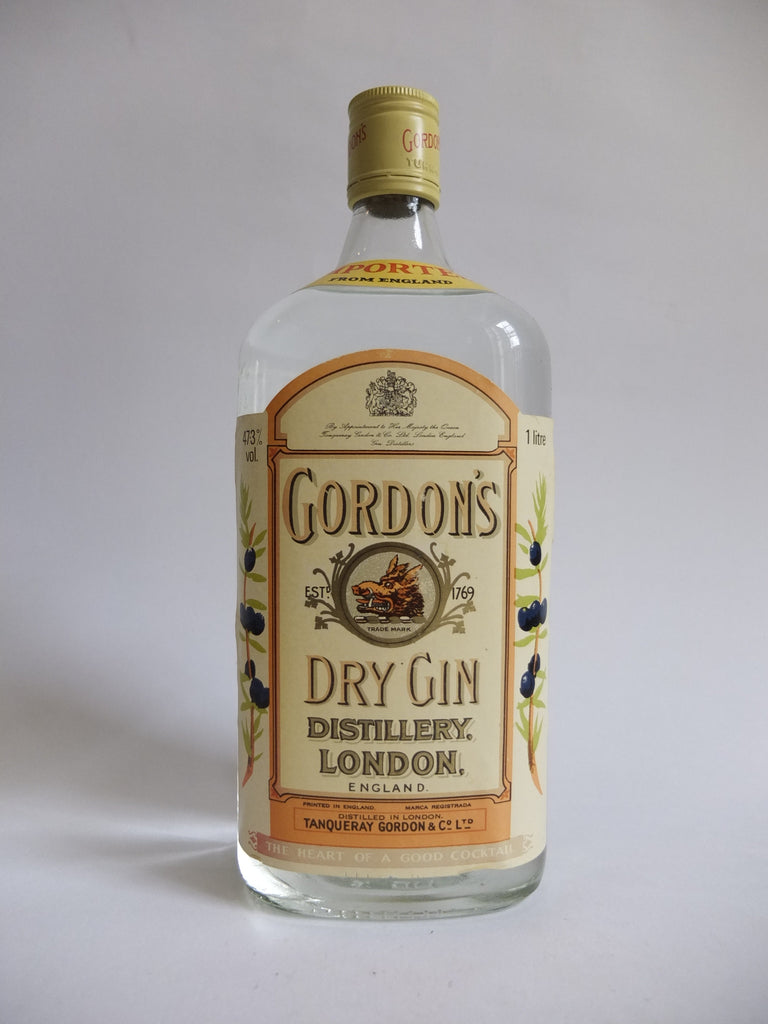 Gordon's Dry Gin - 1970s (47.3%, 100cl)