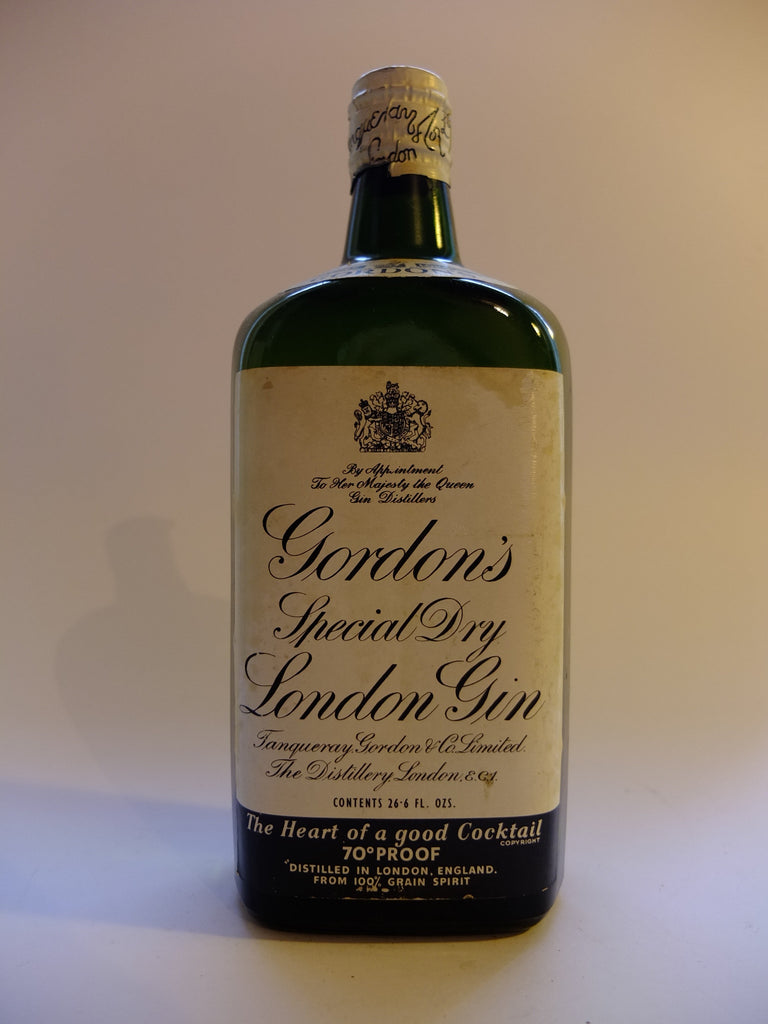 Gordon's Special Dry London Gin - 1950s (40%, 75cl)