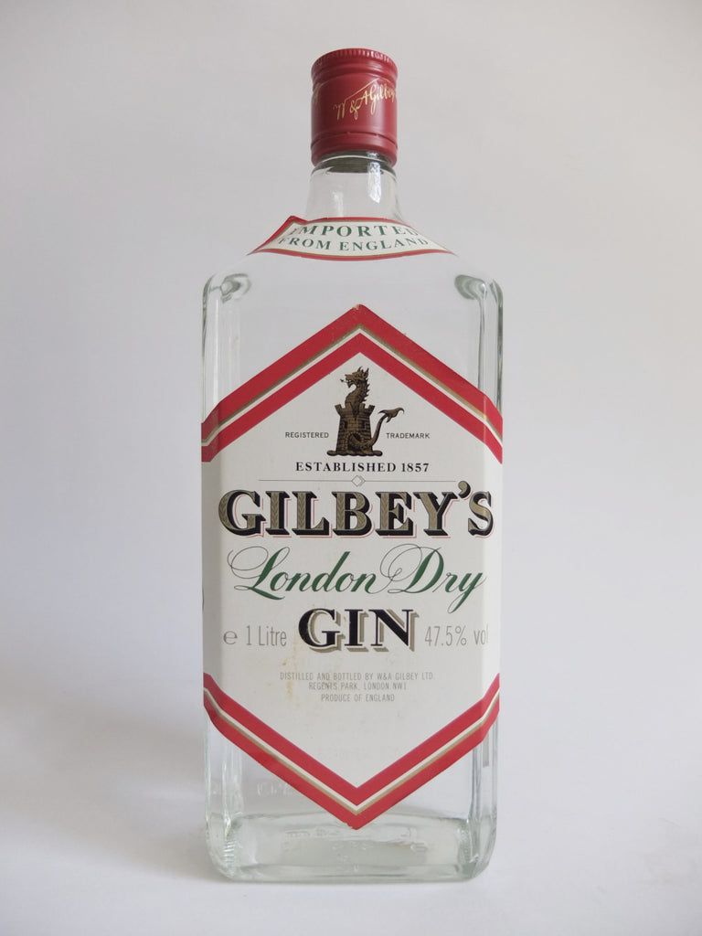 Gibley's London Dry Gin - 1980s (47.5%, 100cl)