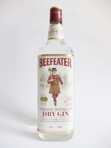 Beefeater London Dry Gin - 1990s (47%, 100cl)