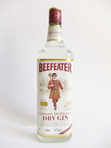 Beefeater London Dry Gin - 1990s (40%, 100cl)