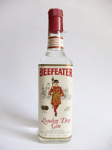 Beefeater London Dry Gin - Early 1980s (40%, 75cl)