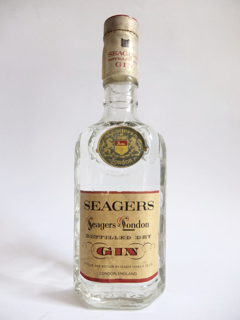 Seager's London Dry Gin - 1960s	(47%, 75cl)
