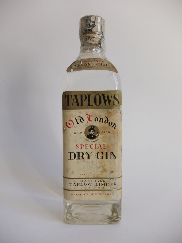 Marshall Taplows Old London Special Dry Gin - 1949/1959 (43%, 75cl)