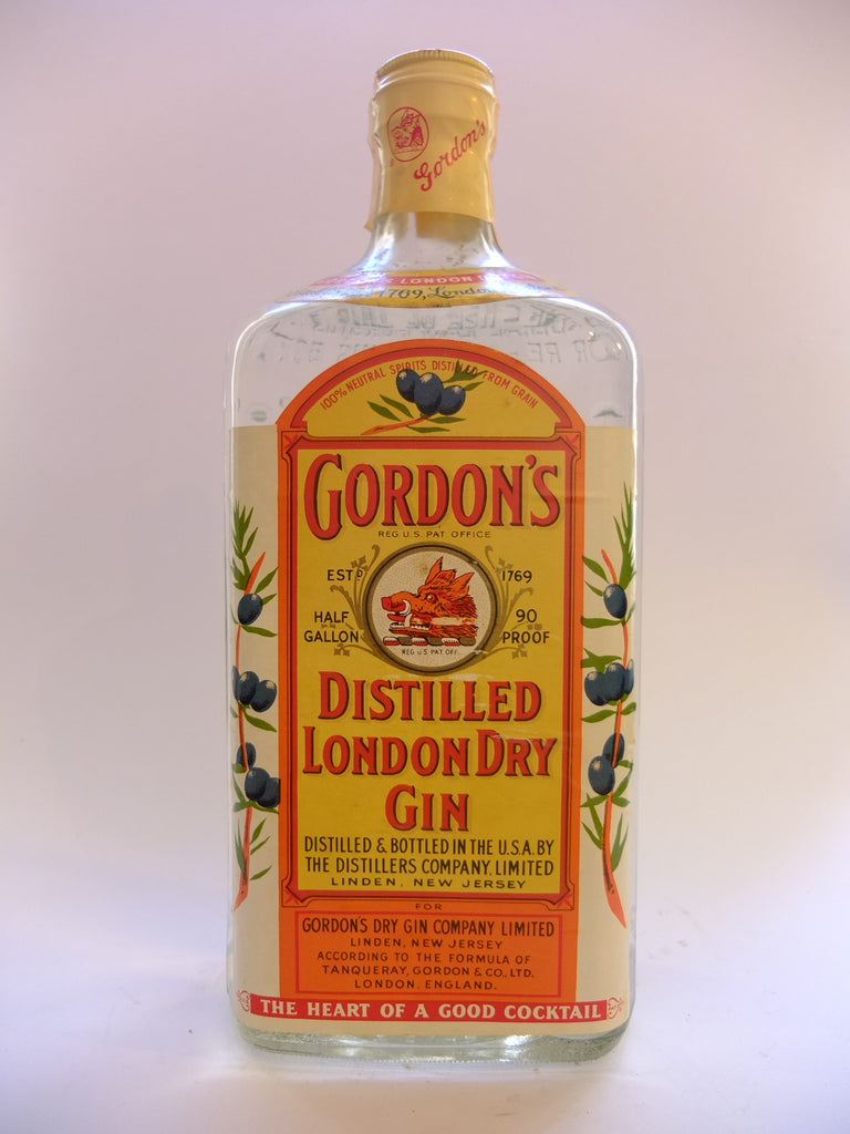 Gordon's Distilled London Dry Gin - 1960s (45%, 190cl)