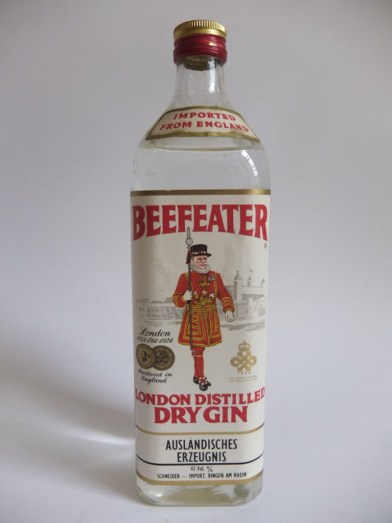 Beefeater London Distilled Dry Gin - 1966 (43%, 75cl)