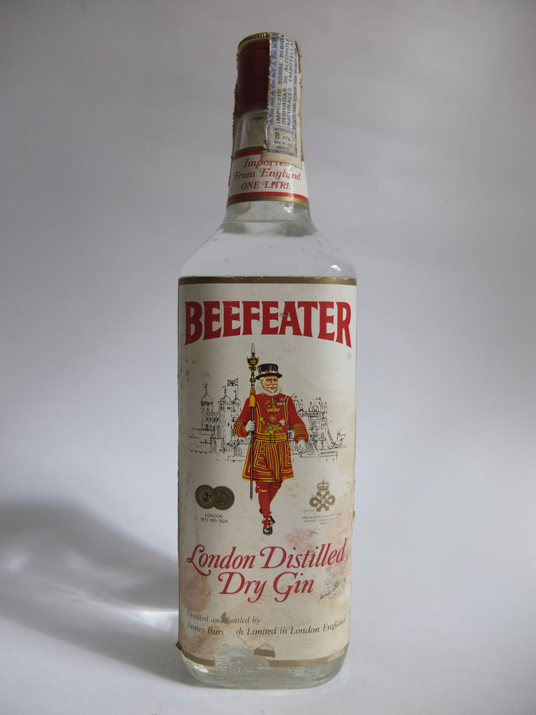 Beefeater London Distilled Dry Gin - 1970s (47%, 100cl)