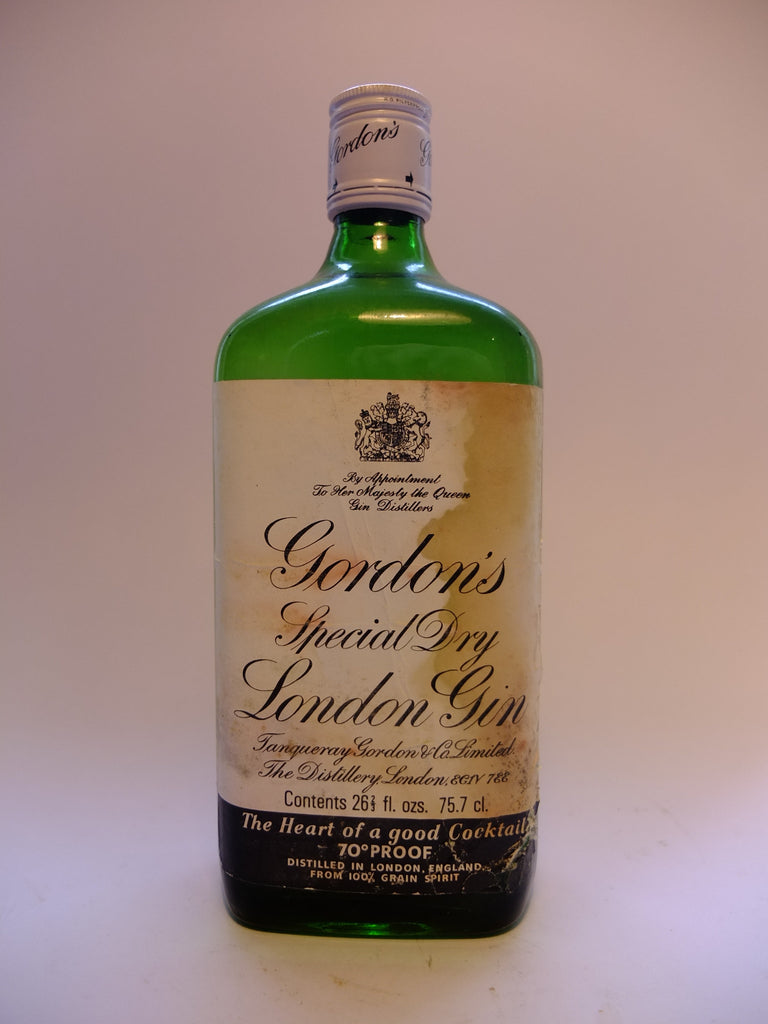 Gordon's Special Dry London Gin - 1970s (40%, 75cl)