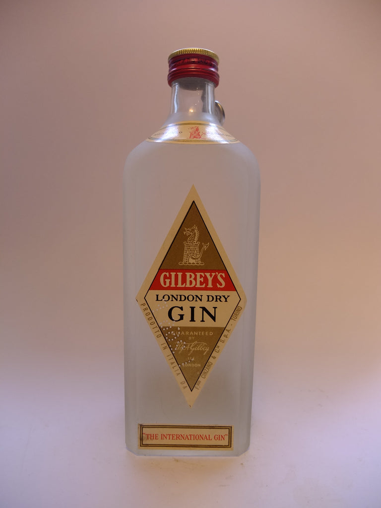 Gilbey's London Dry Gin - 1950s (46.2%, 75cl)