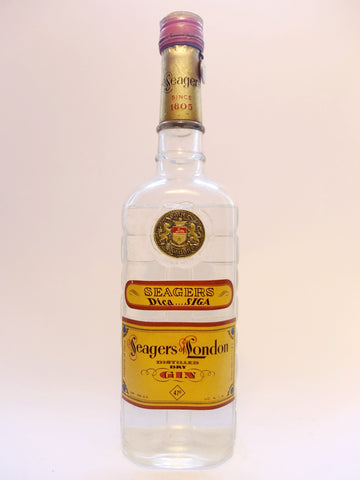 Seager's Dry Gin - 1950s (47%, 75cl)