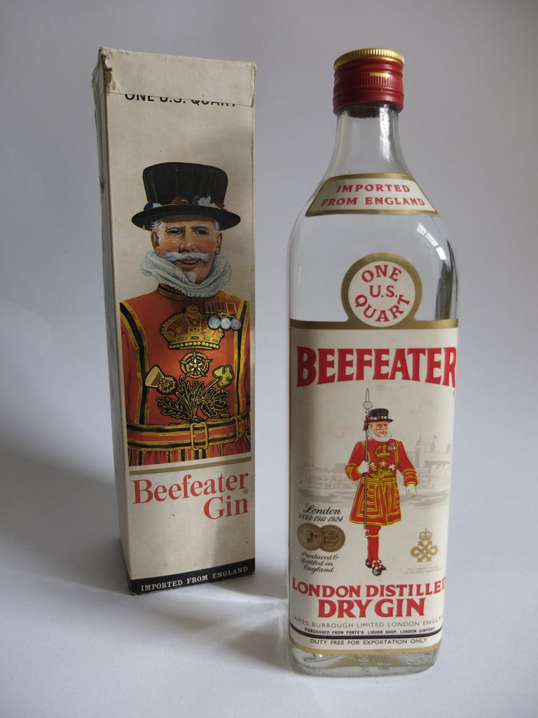 Beefeater London Distilled Dry Gin - Early 1970s	(40%, 94.6cl)